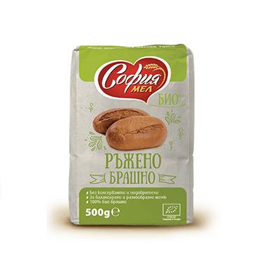 София Мел ръжено био брашно 500гр